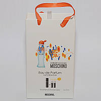 Мини парфюмерия женская Cheap & Chic I Love Love Moschino в подарочной упаковке 3х15 ml  DIZ