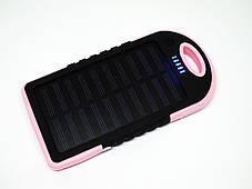 Солнечное зарядное устройство Power Bank 20000 mAh, фото 2