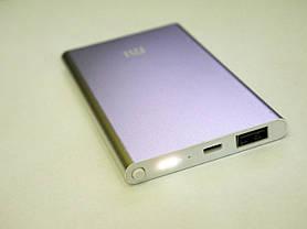 Power Bank Mi 24000 mAh Серый USB + Металл, фото 3
