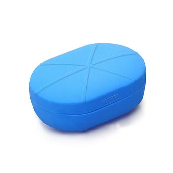Силиконовый чехол для Xiaomi Redmi AirDots Wireless Bluetooth Headset Blue (Голубой)