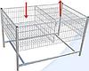 Стол презентационный  сп 800 х 800 х 800/600