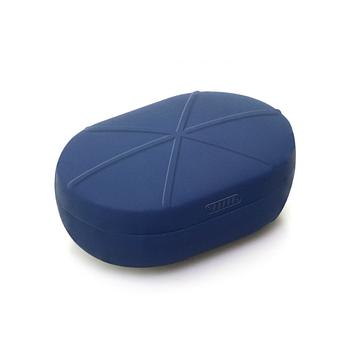 Силиконовый чехол для Xiaomi Redmi AirDots Wireless Bluetooth Headset Navy (Синий)