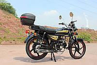 Мотоцикл SP110С-2C Альфа(4т., 110см3, задний багажник, подножка)