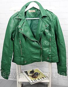 Женская куртка- косуха. БР-2-0919