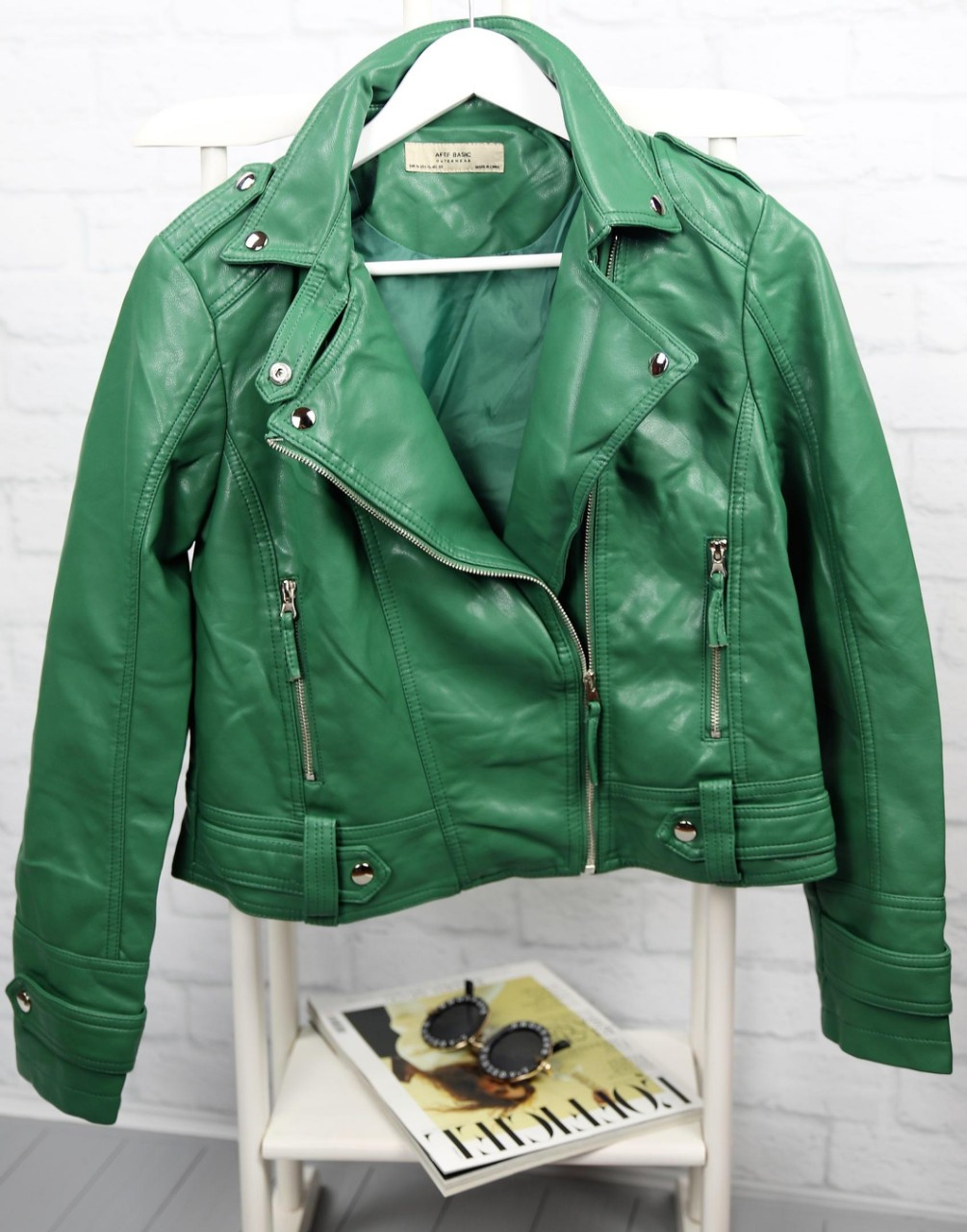 Женская куртка- косуха. БР-0-0120