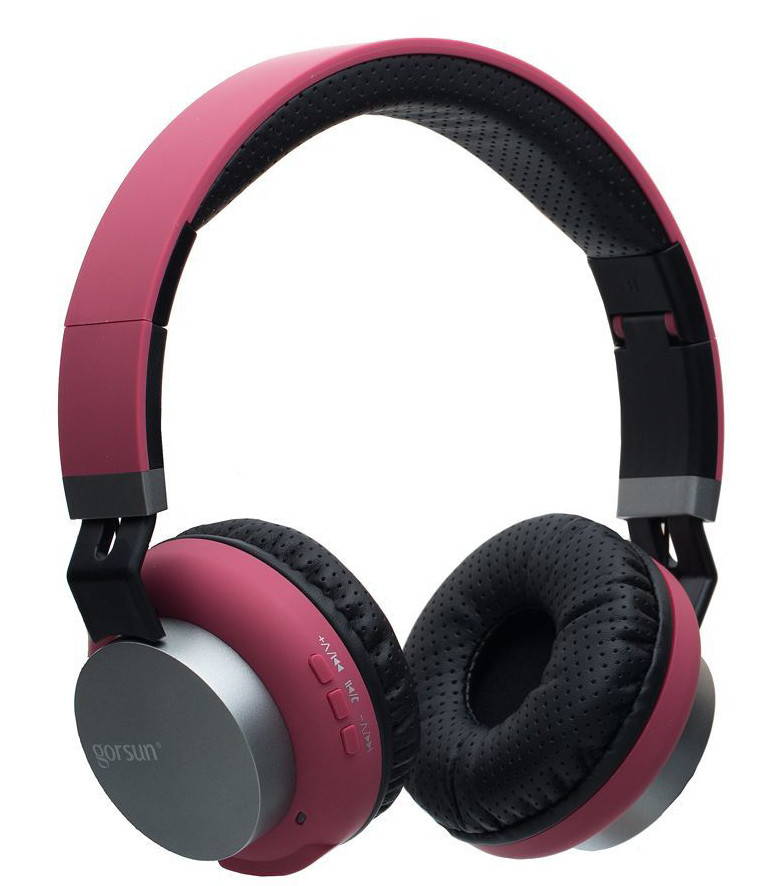 Навушники Gorsun E89 Enjoy Music Bluetooth Червоний