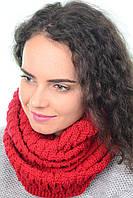Снуд-хомут женский шерсть/акрил 57-35 см