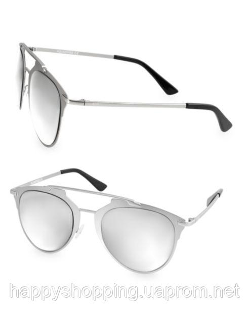 Женские серебристые солнцезащитные очки навигаторы AQS