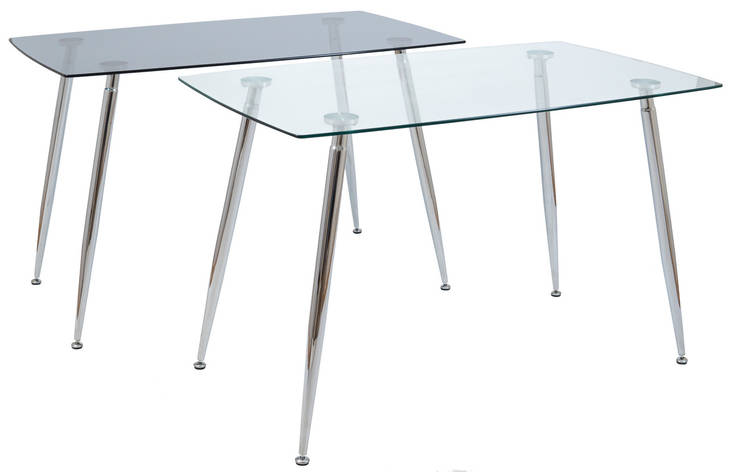 Стол Итали (ноги: хром) (прозрачный), фото 2