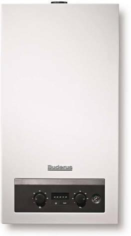 Газовый дымоходный котёл Buderus Logamax U044-24K (2-х контурный), фото 2