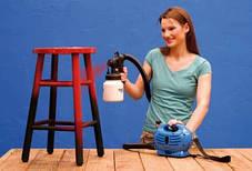 Paint Zoom (Пейнт Зум) Бытовой универсальный краскораспылитель, фото 3