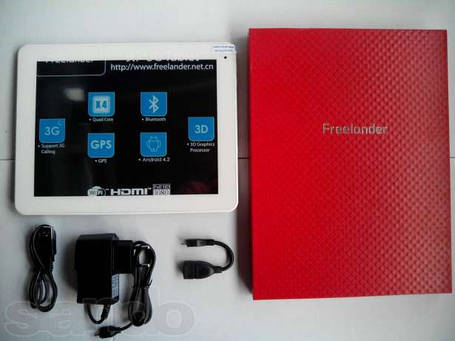 Freelander PD80 - 9.7'+3G+4ядра+16Gb, фото 2