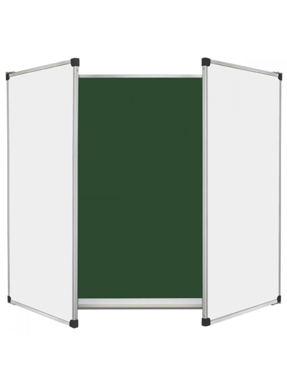 Шкільна дошка крейдова/маркерна/комбінована, 5 пов., 300х120 см