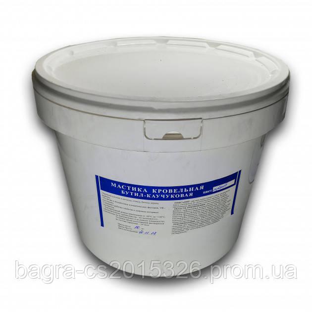 Герметик каучуковий Aqua Protect для екстренного ремонту покрівлі 10 кг