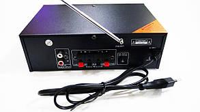 Усилитель звука AV-306B USB+SD+AUX+Bluetooth+Караоке, фото 2