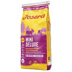 Сухий корм Josera Mini Deluxe (для дорослих собак дрібних порід) 15 кг