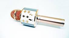 Микрофон Wster WS 858 портативный караоке с динамиком, фото 3