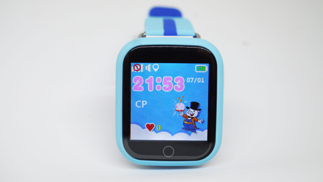 Smart Watch Q100 Детские смарт часы GSM, sim, Sos,Tracker Finder
