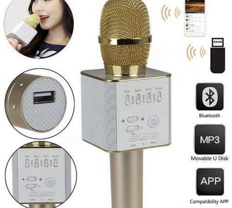 Караоке-микрофон Q7 с динамиком, фото 2