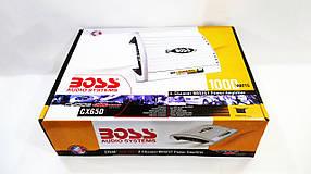 BOSS Audio CHAOS EXXTREME CX650 Автомобільний підсилювач 1000Вт 4х канальний