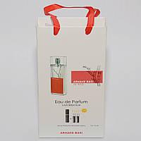 Мини парфюмерия женская  Armand Basi in Red в подарочной упаковке 3х15 ml  DIZ