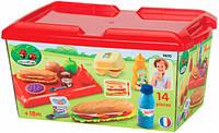 Набор продуктов Ecoiffier Сэндвич в кейсе (2630)
