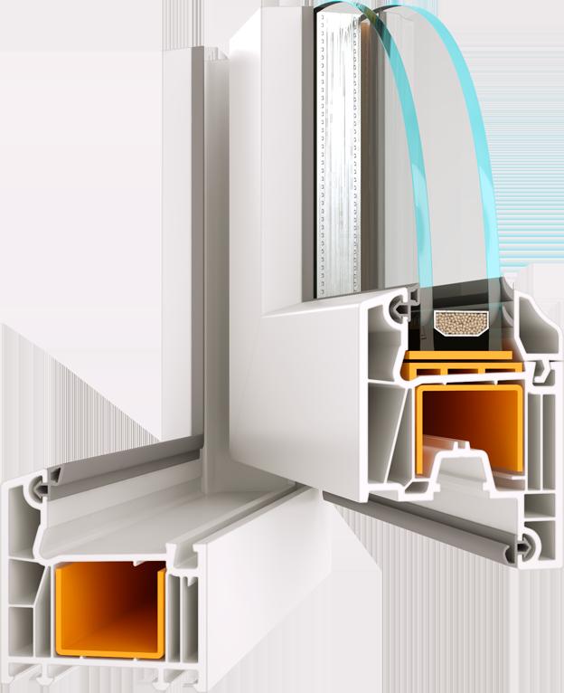 Металопластикове вікно з профілю Wds 5s