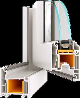 Металлопластиковое окно из профиля Wds 5s