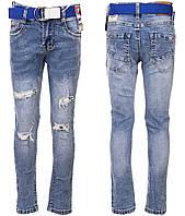 Детские джинсы   для мальчика р. 8-18 лет