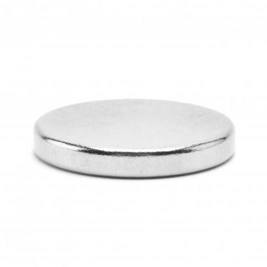 Неодимовий магніт D20 х h3 мм, диск (сила ~ 3.8 кг)