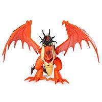 Как приручить дракона 3: коллекционная фигурка дракона Кривоклыка с механической функцией