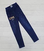 Детские джинсы для девочек  3,4,5,6,7 лет 5489612730619