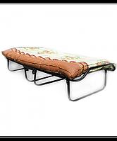 Раскладушка кровать с мягким матрасом