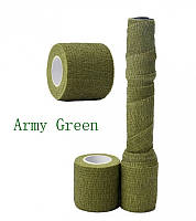 Камуфляжная лента Stealth Army Green 4.5 метра на 5 см (ORAL)