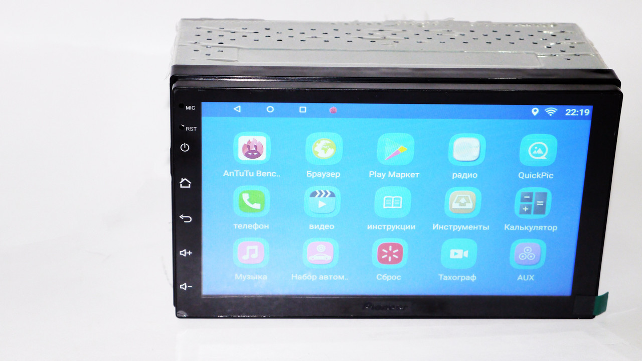 2din Pioneer 7023 Android GPS + WiFi + 4Ядра