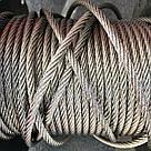 Трос із нержавіючої сталі 5 мм DIN 3055 6х7 А4, фото 3