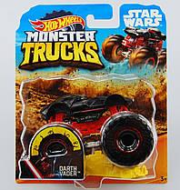 Машинка Hot Wheels Monster Jam 1:64 Darth Vader