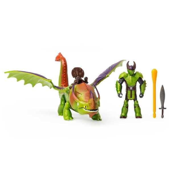 Как приручить дракона 3: набор из дракона Крушиголова и виккинга Эрета