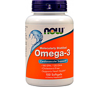 Now Foods Omega 3  (100softgels)