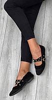 Туфли женские 6 пар в ящике черного цвета 36-40, фото 3
