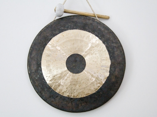 Гонг Храмовый. hand made in China, d=50см (50х50х4 см)