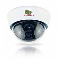 Цветная купольная камера Partizan CDM-VF32HQ-7 v3.1  White