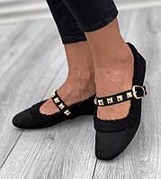 Туфли женские 6 пар в ящике черного цвета 36-40, фото 1