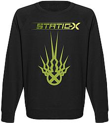 Свитшот Static-X - Green Logo