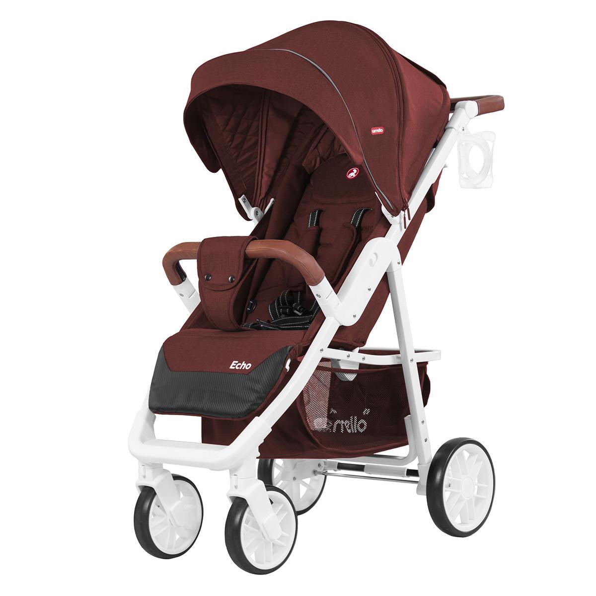 Коляска прогулочная CARRELLO Echo CRL-8508 Rose Red + Дождевик L Гарантия качества Быстрая доставка