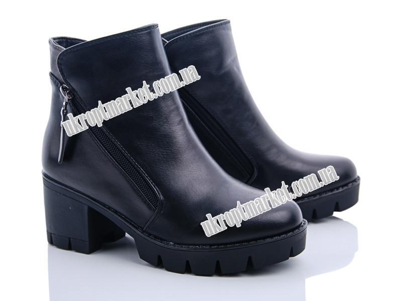 """Ботинки женские MQ15-1 (6 пар р.34-37) """"Ailaifa"""" LG-1486"""