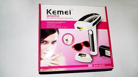 Лазерный эпилятор Kemei KM-6812, фото 2