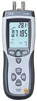 Манометр, вимірювач швидкості об'ємної витрати і температури повітря