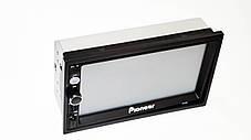 "2din Pioneer 7010G GPS Магнитола 7"" Экран + AV-in + пульт (короткая база), фото 3"