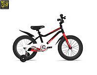 """Велосипед детский RoyalBaby Chipmunk 14"""", черный OFFICIAL UA, фото 1"""
